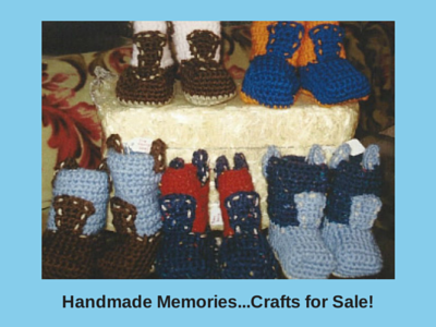 Handmade Memories...Crafts for Sale!