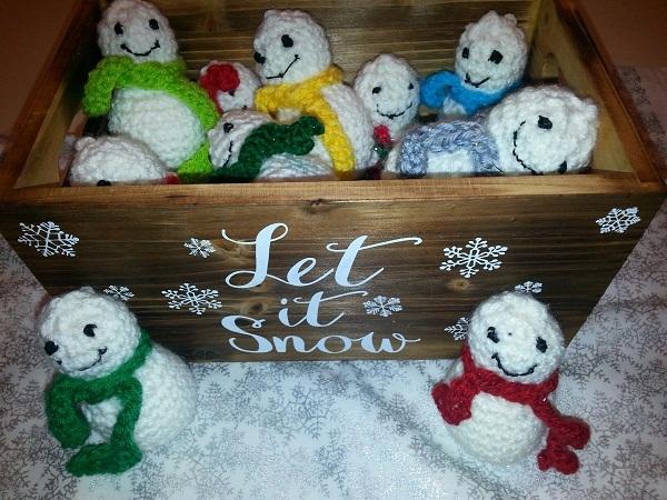Christmas Mini Snowman