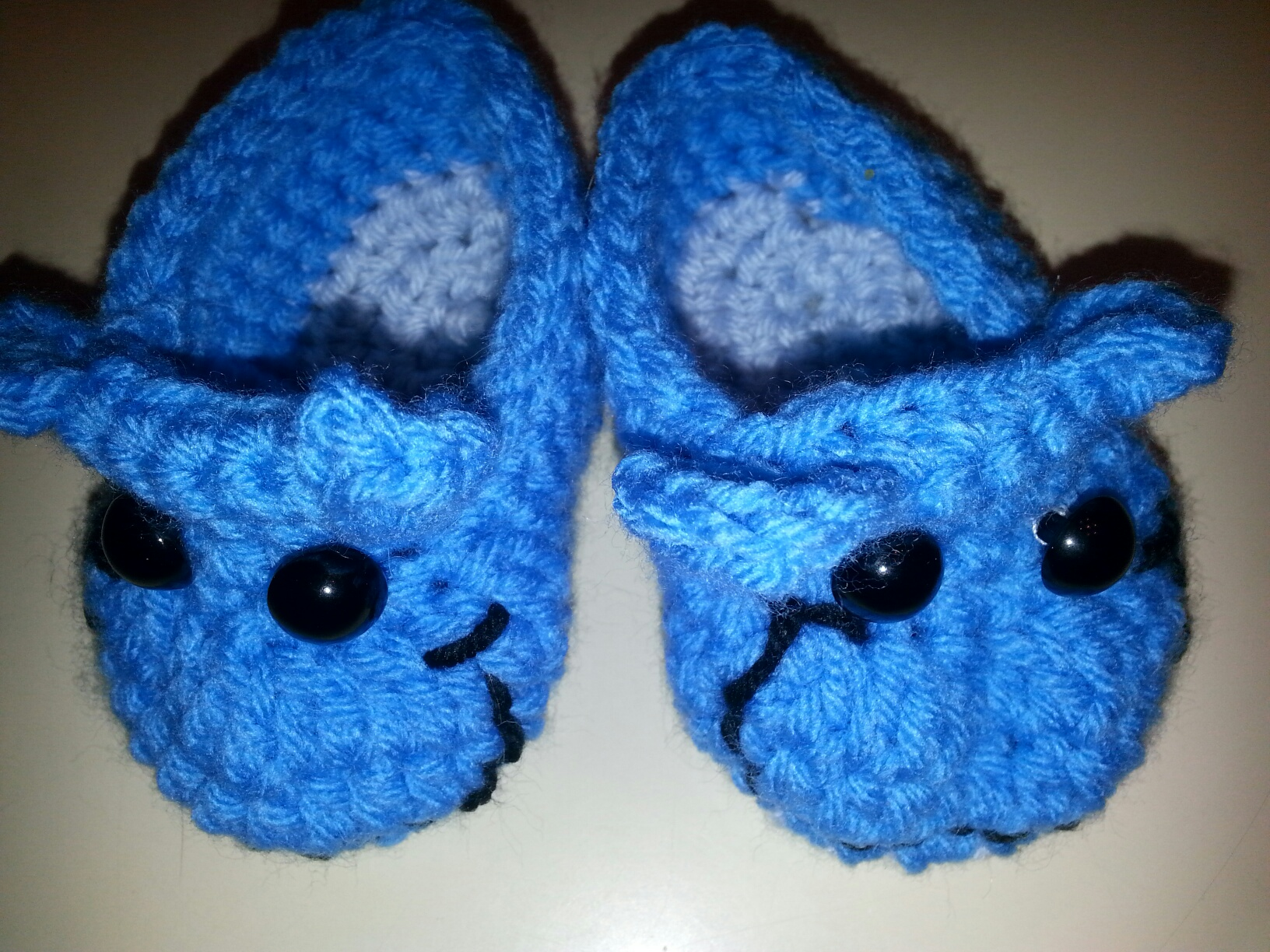 Boy Hippo Booties