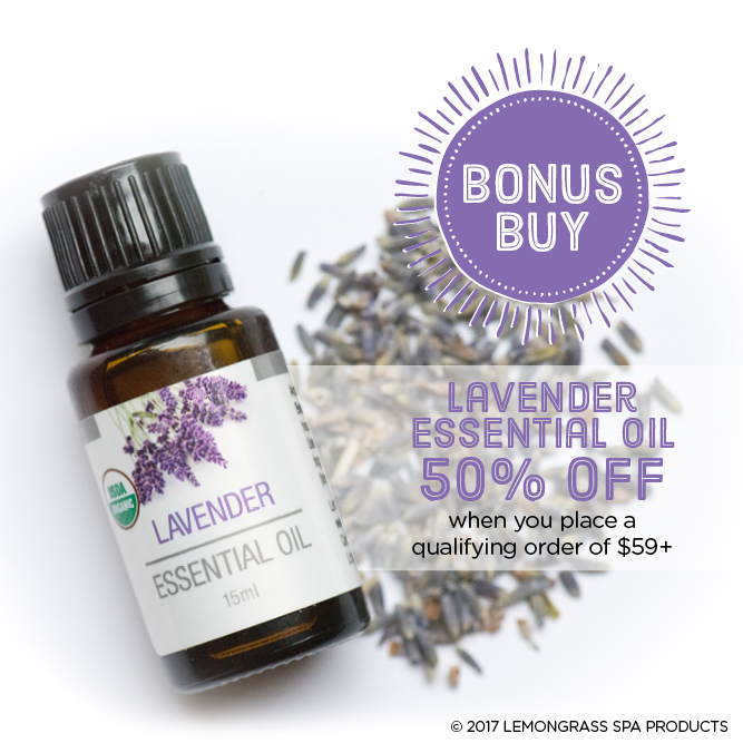 Lavender- great for all skin ailments!